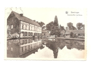 carte postale,stambruges,etangs moulin du rié