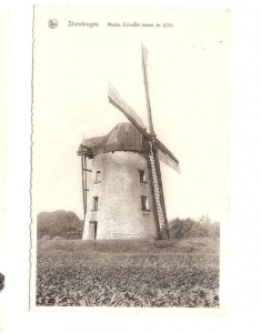 carte postale,moulin colmant,stambruges