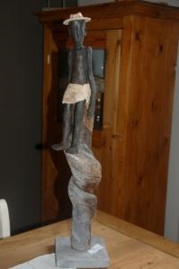 parcours artistes 2012,mr et mme Reinold Leplat,Raymond Delor,sculpteur