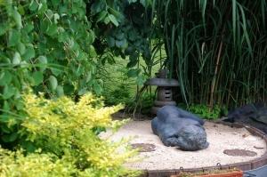 parcours d'artistes 2012,Dominique Crickx,isabelle stienon,sculpteur,jardin