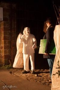 le mètre volé,empreintes campenaires,Foyer culture de Beloeil,Passeurs de Rêves,Stambruges,spectacle promenade,théâtre