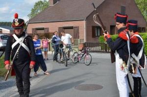 2015 Fête Villageoise Cortège 3 ème Régiment d'Artillerie à Pieds de Stambruges (71).JPG