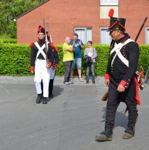 2015 Fête Villageoise Cortège 3 ème Régiment d'Artillerie à Pieds de Stambruges (67).JPG