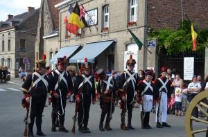 2015 Fête Villageoise Cortège 3 ème Régiment d'Artillerie à Pieds de Stambruges (116).JPG