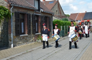 2015 Fête Villageoise Cortège 3 ème Régiment d'Artillerie à Pieds de Stambruges (16).JPG