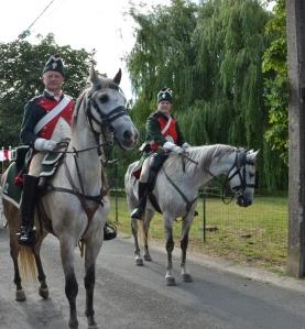 2015 Fête Villageoise Cortège 3 ème Régiment d'Artillerie à Pieds de Stambruges (49).JPG