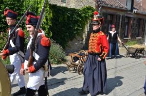 2015 Fête Villageoise Cortège 3 ème Régiment d'Artillerie à Pieds de Stambruges (39).JPG
