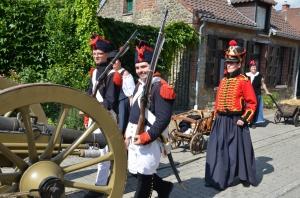 2015 Fête Villageoise Cortège 3 ème Régiment d'Artillerie à Pieds de Stambruges (37).JPG