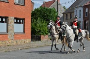 2015 Fête Villageoise Cortège 3 ème Régiment d'Artillerie à Pieds de Stambruges (3).JPG