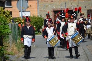2015 Fête Villageoise Cortège 3 ème Régiment d'Artillerie à Pieds de Stambruges (15).JPG
