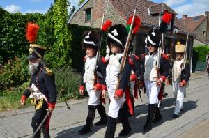 2015 Fête Villageoise Cortège 3 ème Régiment d'Artillerie à Pieds de Stambruges (22).JPG