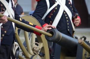 2015 Fête Villageoise Cortège 3 ème Régiment d'Artillerie à Pieds de Stambruges (108).JPG