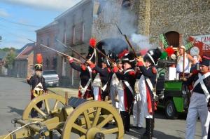 2015 Fête Villageoise Cortège 3 ème Régiment d'Artillerie à Pieds de Stambruges (130).JPG