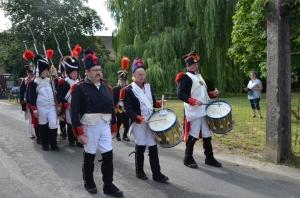2015 Fête Villageoise Cortège 3 ème Régiment d'Artillerie à Pieds de Stambruges (52).JPG