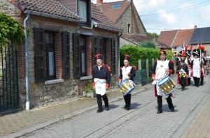 2015 Fête Villageoise Cortège 3 ème Régiment d'Artillerie à Pieds de Stambruges (17).JPG