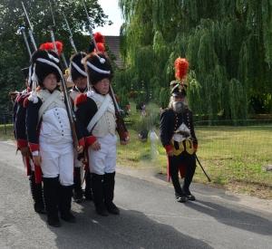 2015 Fête Villageoise Cortège 3 ème Régiment d'Artillerie à Pieds de Stambruges (56).JPG